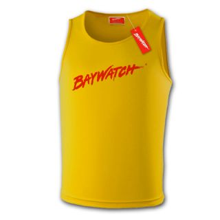 Licensed Baywatch Yellow Cooltex Vest | Lifeguard Gear